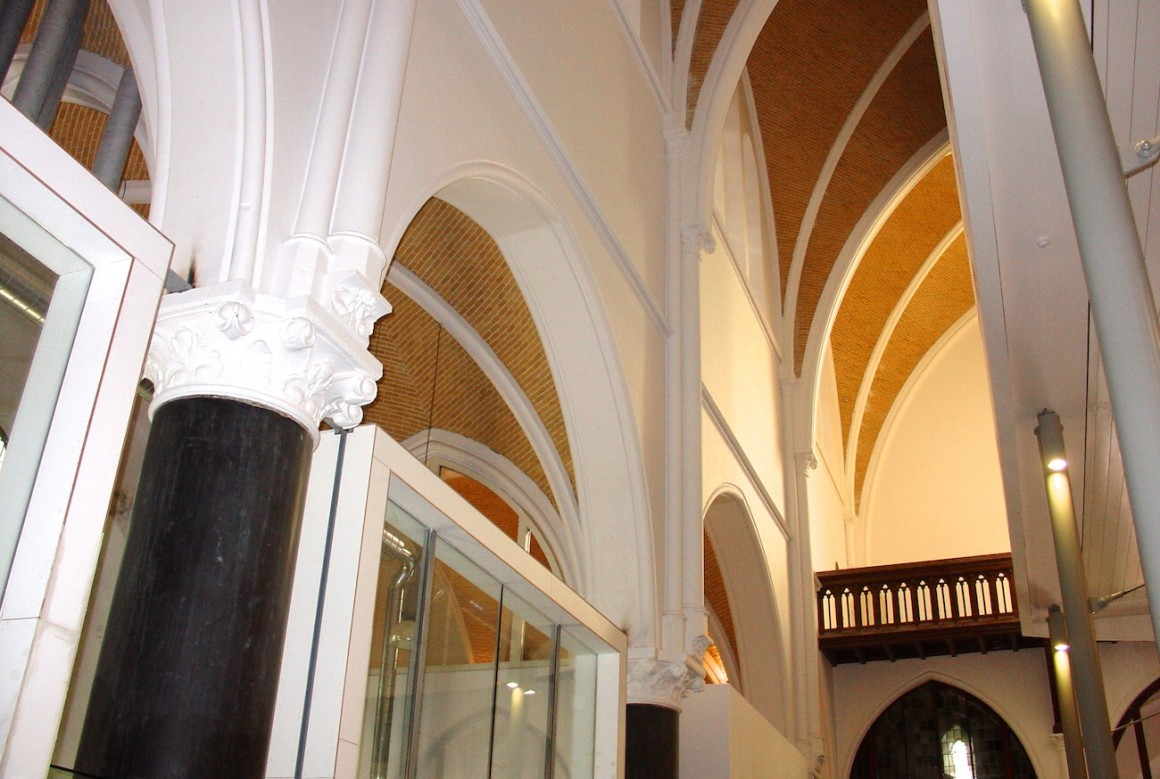 __5 kolom gewelven balustrade koor
